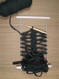 Verstelbare guimpenaald groot, breedte tot 22 cm.